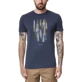 tentree Spruced Up T-shirt Herrer, blå